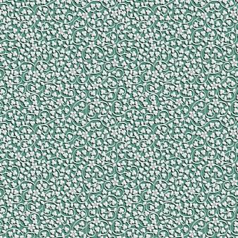 Délicat motif de dentelle de papier découpé sans couture florale