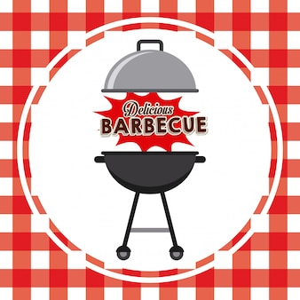 Délicieux barbecue