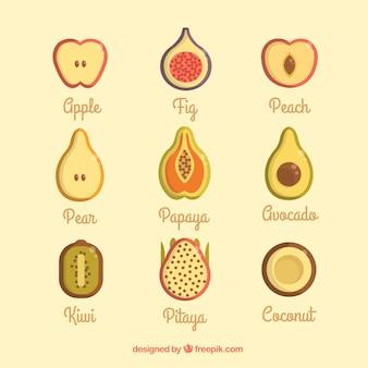 Délicieux fruits d'été