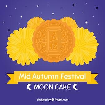 Délicieux gâteau de lune de la mi-automne