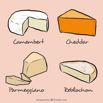 Délicieux selecction de fromage