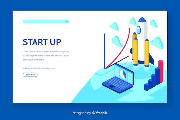 Démarrer le modèle web de page de destination
