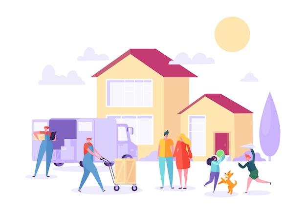 Déménagement à domicile avec déménagement aide porter