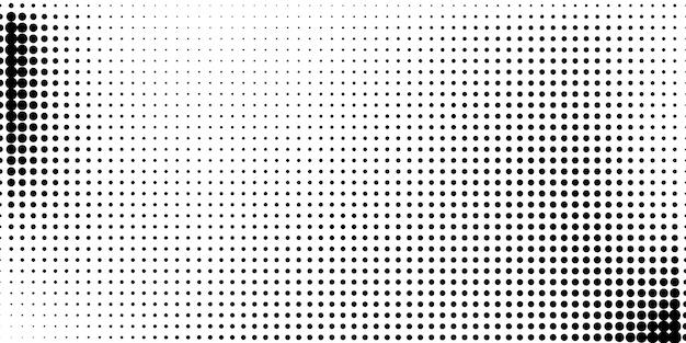 Demi-teinte dans un style abstrait. fond blanc et noir.