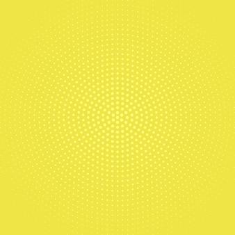 Demi-teinte monochrome géométrique rond à pois