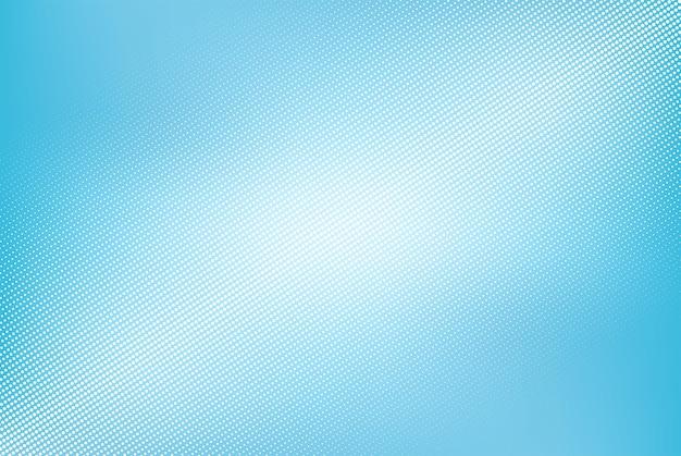 Demi-teinte de vecteur sur fond bleu, conception de points abstraits