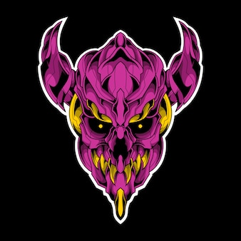 Démon violet