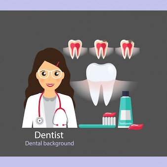 Dental icons collection de soins