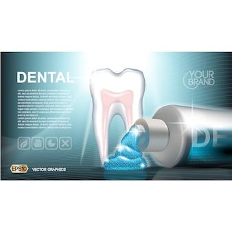 Dentalcare modèle de brochure