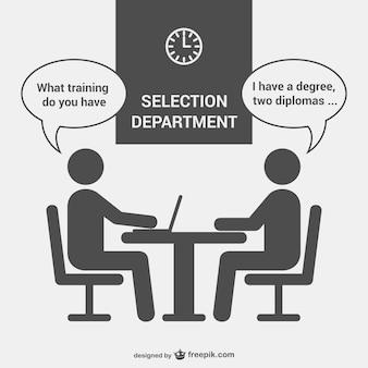 Département entrevue de sélection