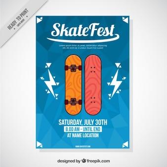 Dépliant du festival skate