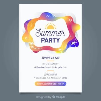 Dépliant d'été