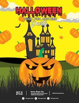 Dépliant d'halloween