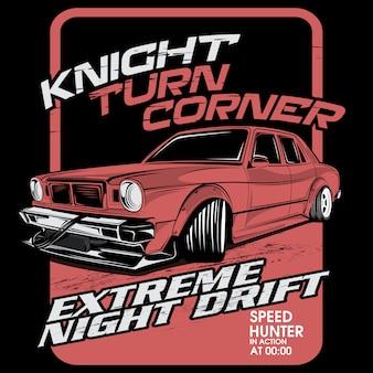 Dérive nocturne extrême