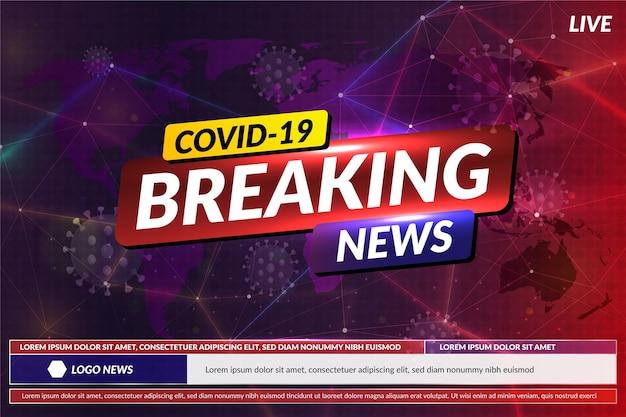 Dernières nouvelles sur le coronavirus - contexte