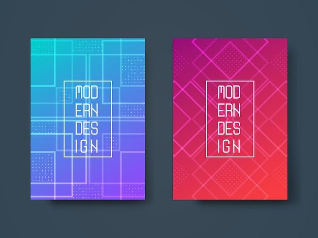 Design abstrait géométrique
