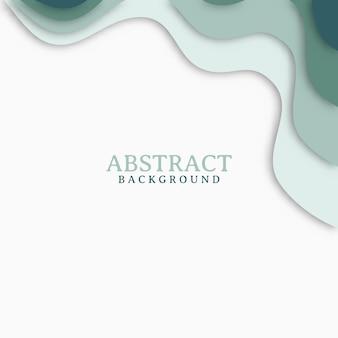 Design abstrait moderne avec des formes ondulées. fond de design moderne avec forme géométrique