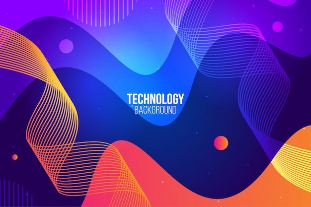 Design abstrait numérique