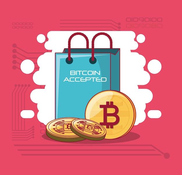 Design accepté par bitcoin