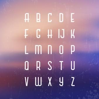 Design alphabet