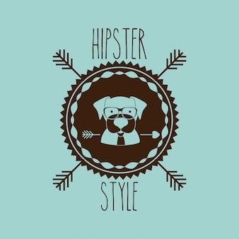 Design animal hipster