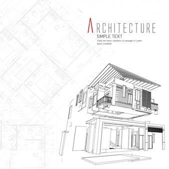 Design architecture d'arrière-plan