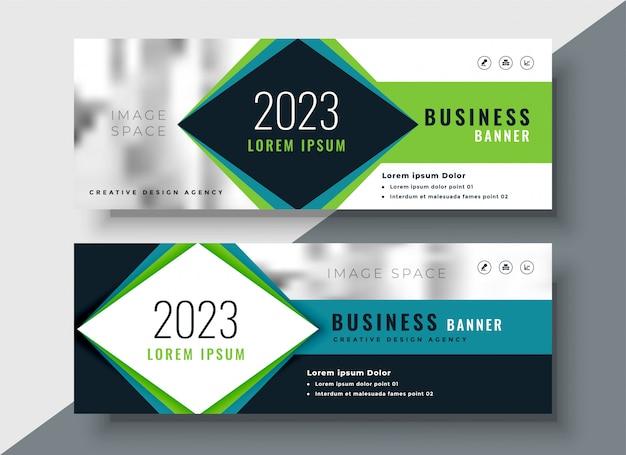Design de bannière d'entreprise pour votre entreprise