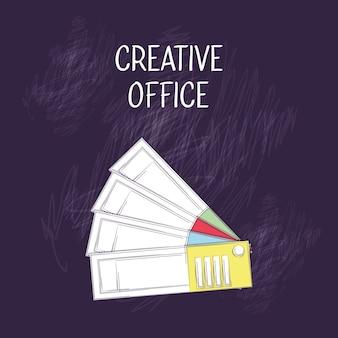 Design de bureau créatif