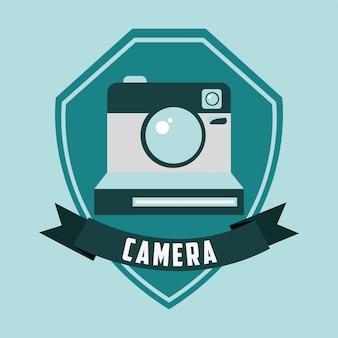 Design de caméra rétro