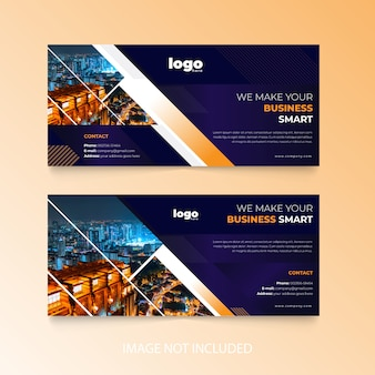 Design de couverture facebook d'entreprise