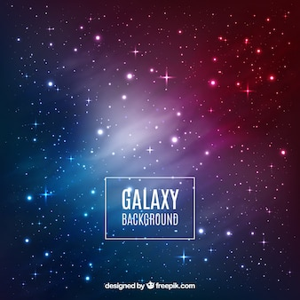 Design de fond Galaxy