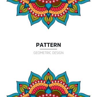 Design de fond Mandala