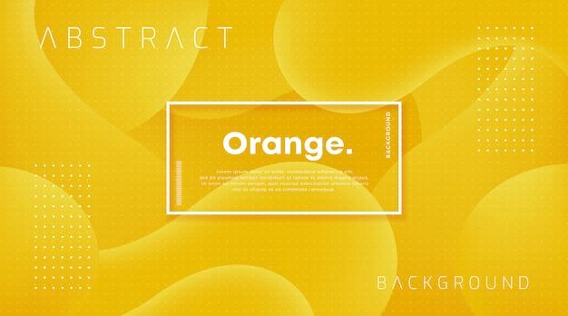Design dynamique fond orange texturé.