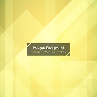 Design élégant de fond polygonale lumineux