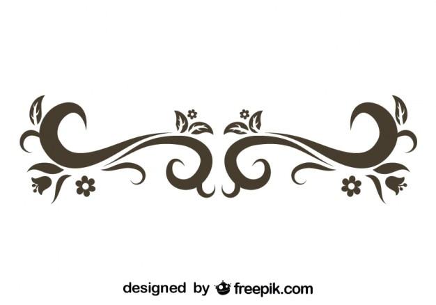 Design élégant de remous rétro