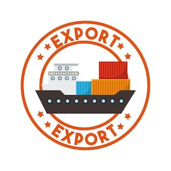 Design d'exportation et d'importation