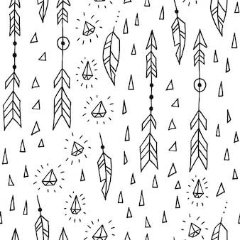 Design flèches de motif
