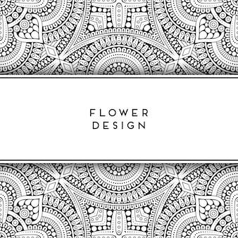 Design floral géométrique