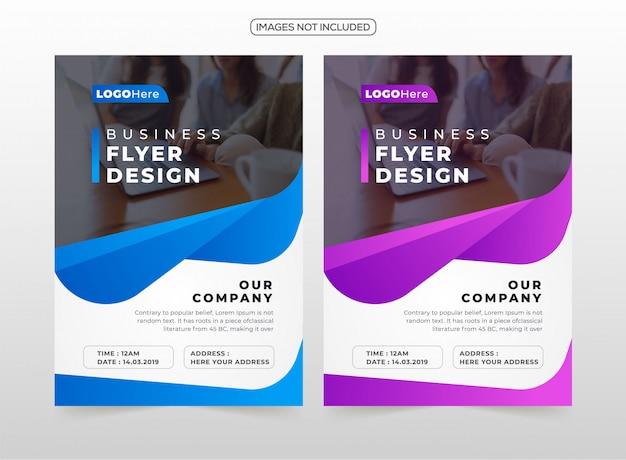 Design de flyer professionnel