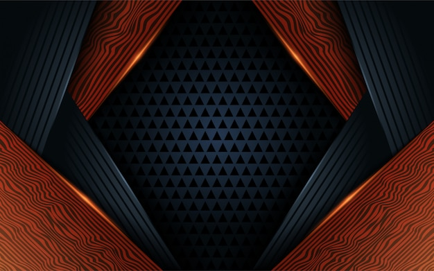 Design de fond abstrait bois noir foncé