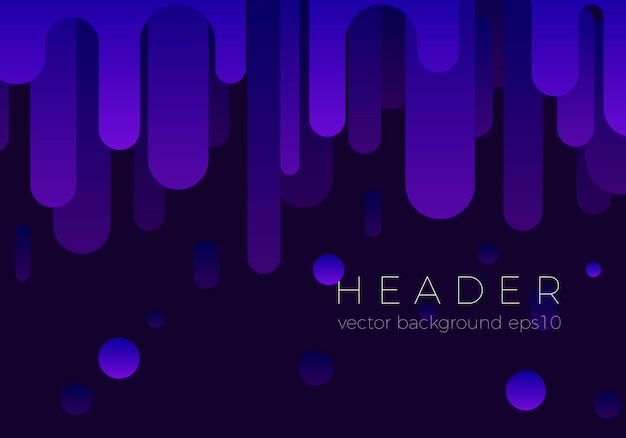 Design de fond abstrait flux violet