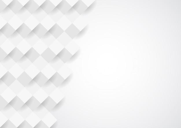 Design de fond abstrait texture blanche