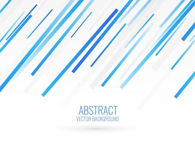 Design de fond bleu rayures diagonales