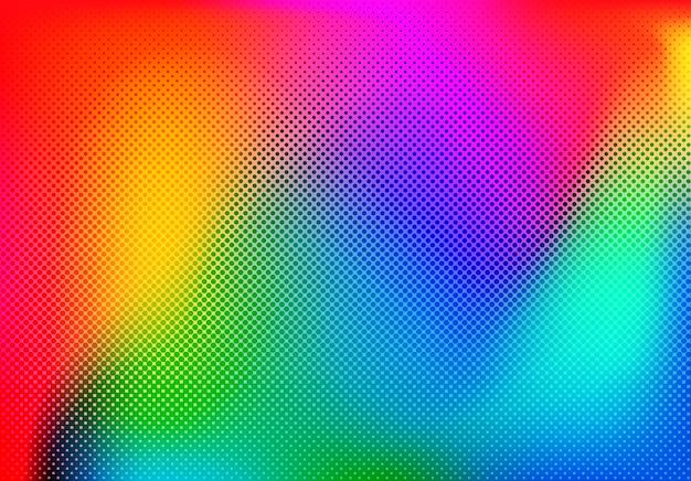 Design de fond coloré