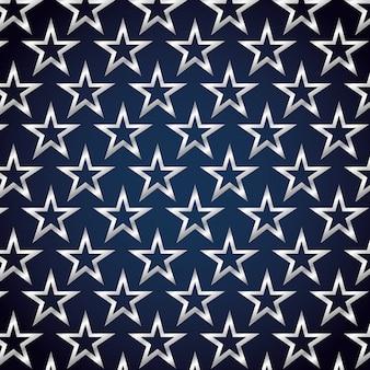 Design de fond de décoration art star