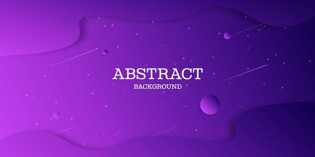 Design de fond dégradé violet abstrait