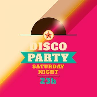 Design de fond disco