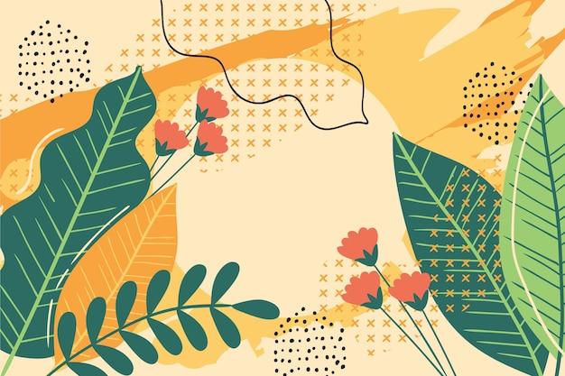 Design de fond d'été coloré