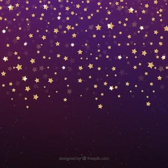 Design de fond étoile brillante pourpre