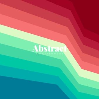 Design de fond imprimé abstrait coloré